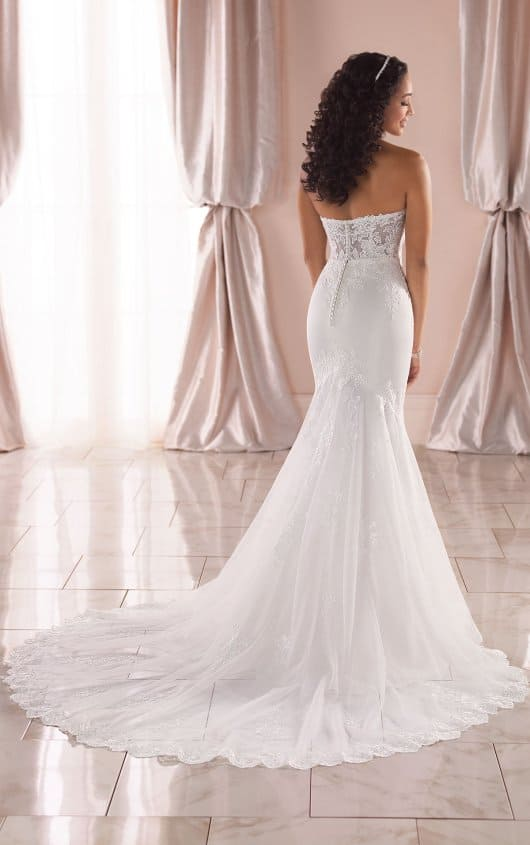 Stella York 6867 - Back